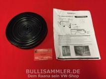VW Typ3 1500 1600 Kotflügelkeder Set schwarz TOP (0101-301)