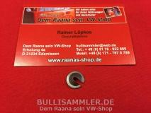VW Käfer Federteller für Gaszug -12/65 (0918-1)