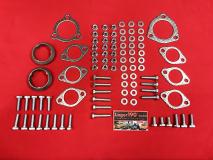 VW Bus T3 WBX Montagesatz Anbausatz Auspuff (1000-255)