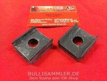 Paar Gummiunterlagen Vorderachse oben für VW Käfer Typ14