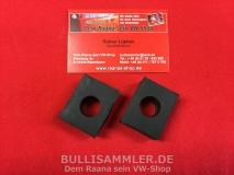 Paar Gummiunterlagen Vorderachse unten 17mm für VW Käfer Typ14