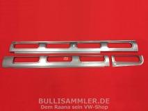 VW Bus T1 Samba Dach Rep.-Bleche Fenster linke Seite 3tlg