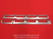 VW Bus T1 Samba Dach Rep.-Bleche Fenster rechte Seite 3tlg