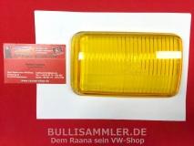 Glas für Nebelscheinwerfer links gelb BOSCH, Porsche 911/964 (-053)
