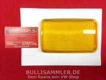 Glas für Nebelscheinwerfer rechts gelb BOSCH, Porsche 911/964 (-052)