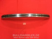 VW Käfer bis -74 / auch 1302/1303 -74 Stoßstange vorne verchromt brasilianische Qualität (0012)