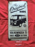 VW Bus T1 The original Ride Blechschild Schild 25x50cm (62-022)