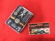 VW Käfer Bus Magnet Magnetset Retro VW Service (62-023)