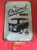 VW Bus T1 The original Ride Blechschild Schild Blech Retro 20x30 (62-020)