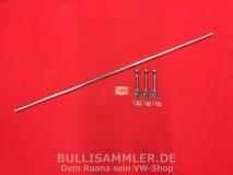 VW Bus T1 T2 Gepäckstange Gepäckschutz hintere Sitzbank Chrom (01-042)