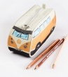 Stiftemäppchen Etui VW Bus T1 orange