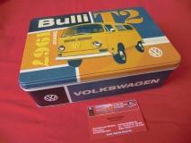VW T2 Bulli since 1967 Metall-Vorratsdose Blechdose Geschenkdo