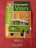 VW T2 Blechschild Schild Camper Van since 1967 20x30 cm (-026)