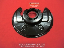 VW Bus T2 71-79 Bremsstaubblech vorne links (-649)