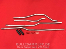 VW Bus T3 1.9-2.1 85-92 Wasserrohr-Set Edelstahl Motorkühlung