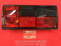 VW Bus T3 Rückleuchte rot/schwarz rechts MIT PRÜFNUMMER (45-319)
