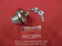 VW Käfer ab 72 abschließbarer Tankdeckel mit 2 Schlüsseln (45-299)