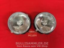 VW Käfer, Bus T2 73-, Golf1, LT, Scheinwerfer H4, Paar = 2 Stück (0613)