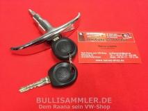 VW Bus T1 55-63 Heckklappengriff T-Griff 2 Schlüssel (45-345)