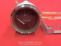VW Bus T1 12V Voltmeter Instrument 12 Volt (-017)