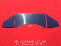 VW Käfer Motorraumverkleidung hochglanzpolierter Edelstahl glatt
