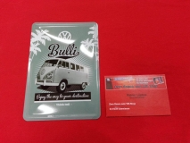 VW Blechschild Bulli 15x20 cm Schild Deko Retro