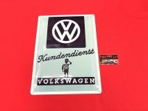 VW Volkswagen Kundendienst Blechschild 30x40cm (-031)