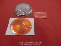 !Einzelstück! VW Bus T1 63-67 Blinkergläser links Streuscheiben orange MIT PRÜFNUMMER