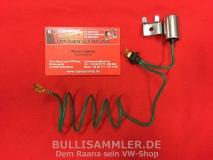 Kondensator für Bosch 009-Verteiler vom VW Käfer, Bus T1, T2
