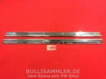 VW Käfer Schwellerbeschläge schmal Alu hochglanz poliert (0503)