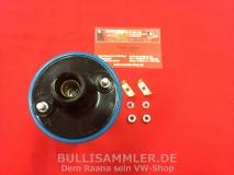 Beru Zündspule 12V ohne Halter für VW Käfer Kübel Bus T1 T2 T3 T4 Porsche 914  ers. Bosch blau MADE IN MEXICO (45-379)