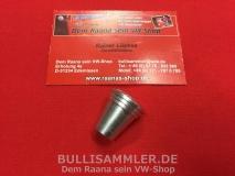 VW Käfer, T1, Karmann Knopf für Licht / Wischer Schalter Alu