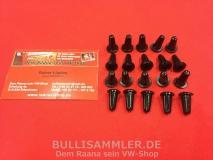 20 Gummistopfen für Türverkleidung von VW Bus T2 (0405-550)