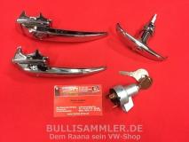 Türgriffe Set gleichschließend für VW Bus T1 -07/58 PREMIUM (0425-905)