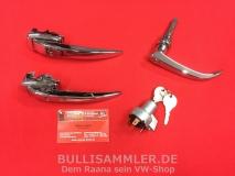 Türgriffe Set gleichschließend für VW Bus T1 07/63-12/63 PREMIUM (0425-920)