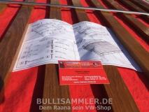 Dachgepäckträger 4-reihig Edelstahl für VW Bus T3 (4870-252)