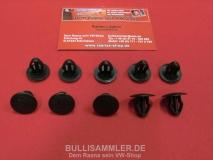 Clips Türverkleidung für VW Bus T3 Dunkelbraun Klammer Innenverk 1 Satz (= 10 Stück) (13-107)