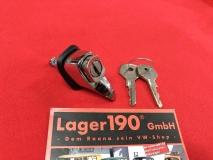 Handschuhfachschloss VW Käfer 10/52-07/67 mit 2 Schlüsseln (0515-1)