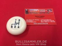 VW Käfer, Bus T1 Schaltknauf elfenbein 10mm (0514-70)