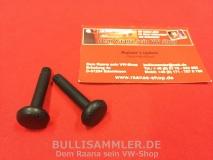 Türsicherungsknopf für VW Käfer, T2, Türpin schwarz, Paar