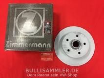 Bremsscheibe für VW Bus T3 79-86 von Zimmermann 278mm (1274-900)