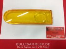 Glas für Nebelscheinwerfer links gelb Porsche 911 Typ 993, HELLA