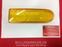 Glas für Nebelscheinwerfer rechts gelb Porsche 911 Typ 993 HELLA