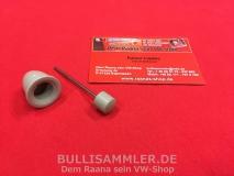 VW Käfer -67, Karmann, Knopf Scheibenwischerschalter grau (-435)