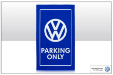 Geschirrtuch Motiv VW Logo Emblem VW Parking Only (-006)