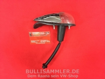 VW Käfer 08/57-10/63 Blinker vorne komplett, weiß Chrom (0617)