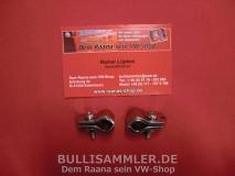 VW Bus T1 ein Paar Spiegelhalter Aussenspiegel (0464-2)