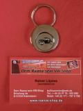 VW Käfer Schlüsselanhänger mit Einkaufswagenchip Chip Volkswagen (13-129)