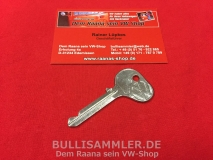 Schlüsselrohling - Profil F - ORIGINAL VW Rohling (-135)
