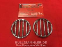 VW Käfer -10/52 Brezelkäfer Ziergitter Hupe rund (0408-020)